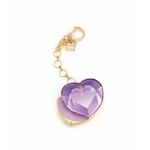 Vera Wang Princess Solid Perfume comes inside a trendy purple jeweled heart keychain ($38; neimanmarcus.com)