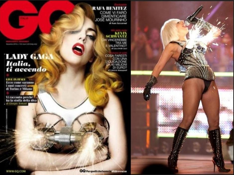 Explosive Gaga bras