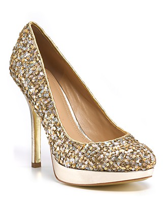 Glam up your feet with Glitter shoes for less (2/6)