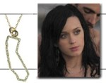 "This 14k Pave Diamond State was worn by Katy Perry in her ""Teenage Dream"" video."