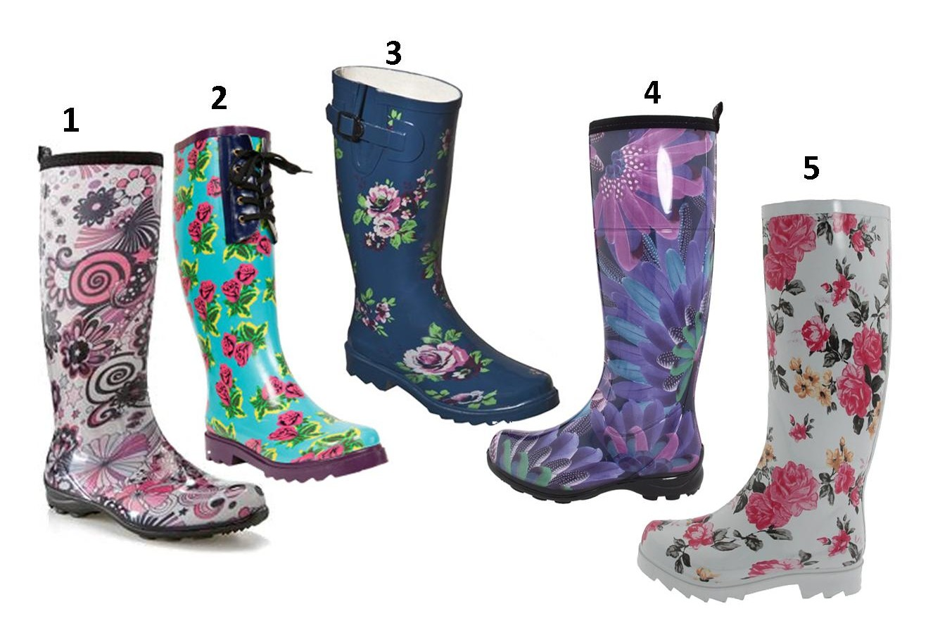 Fashionable Rain Boots – MIXED EGO