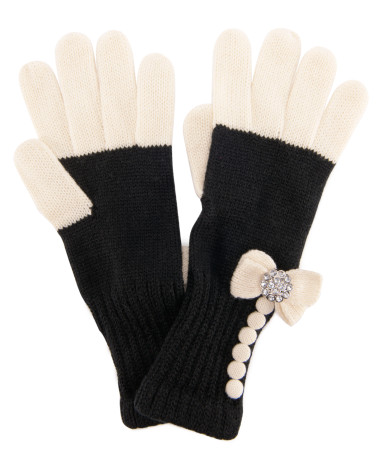 Buttons & Bows Gloves