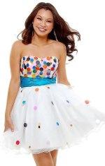white-strapless-confetti-prom-dress