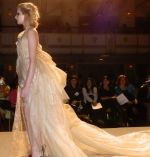 Finale gown at the 2012 Pietra Banchi fashion show at Couture Fashion Week held in NYC.