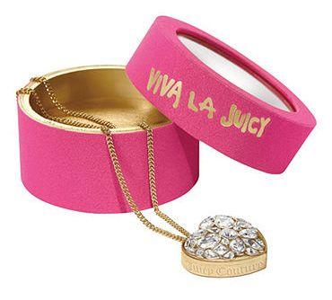 Juicy Couture Viva la Juicy Limited Edition Solid Perfume Necklace, $48.00