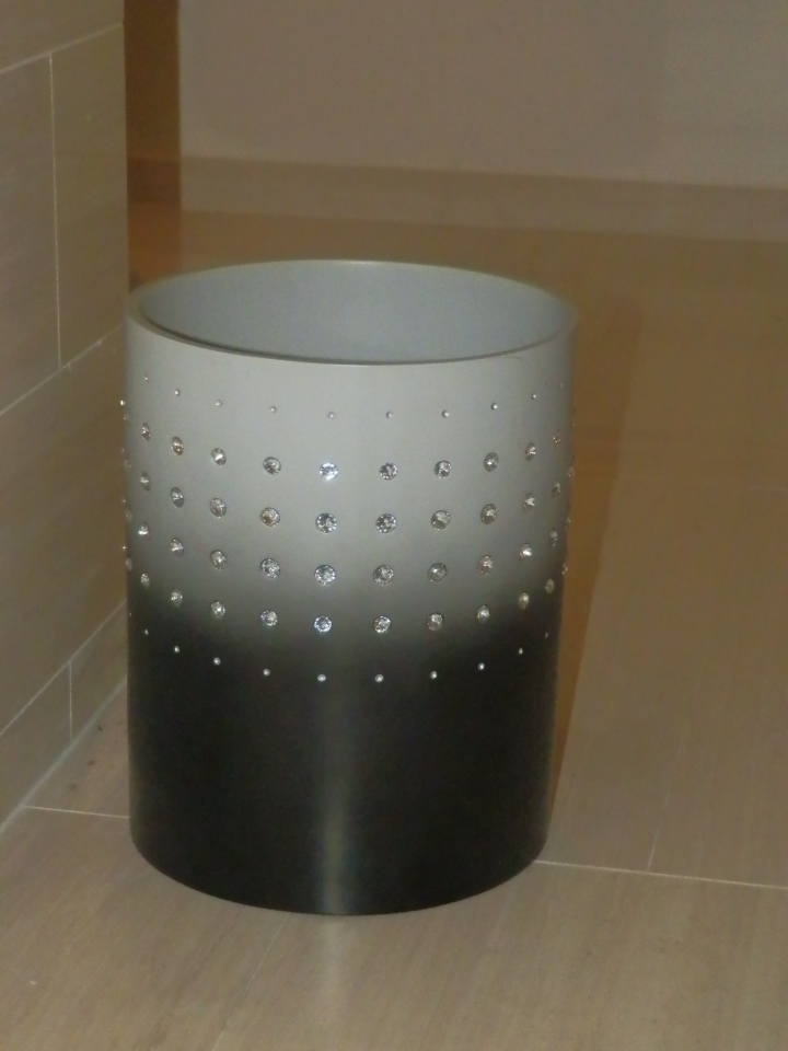 have you ever seen a wastebasket as cool as this?