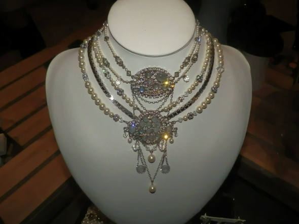 Marie Antoinette layered necklace
