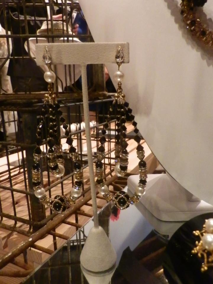 Gold Dust Woman earrings