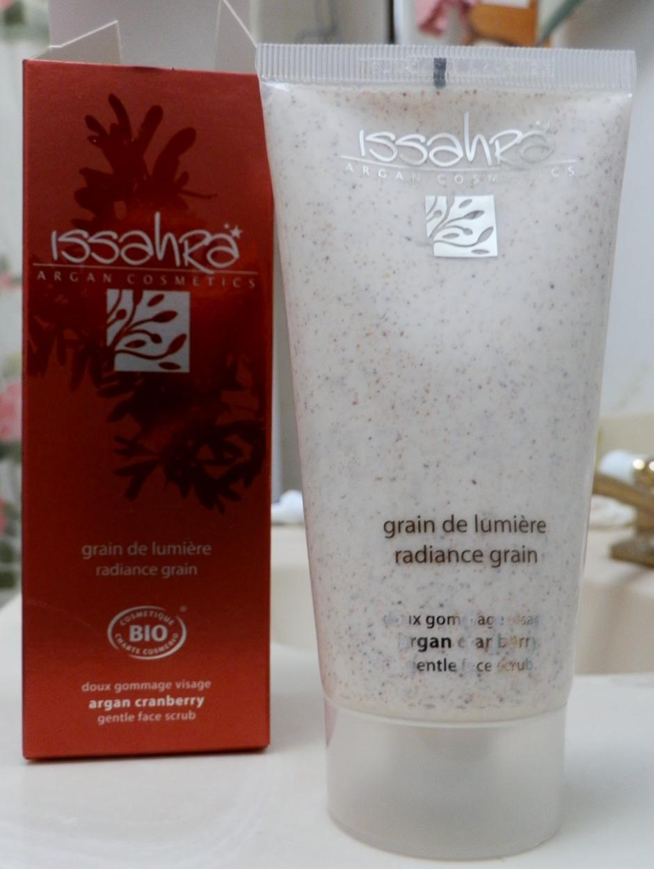 Radiance Grain Face Scrub ($35, arganbody.com)
