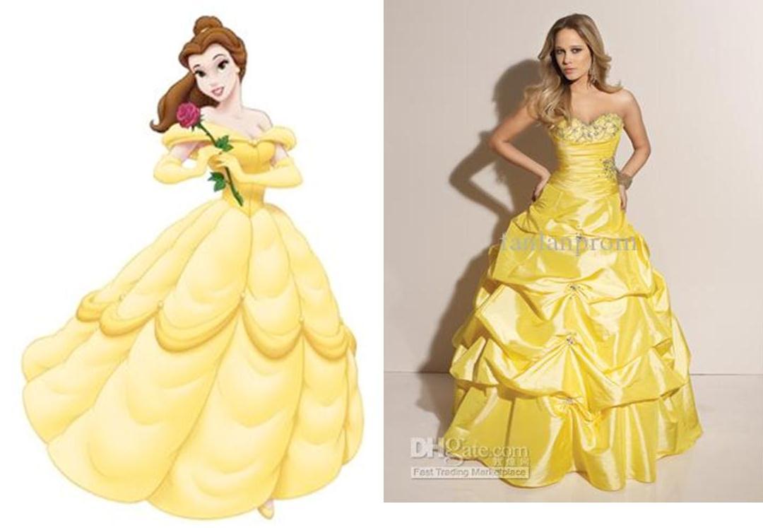 Disney Belle Wedding Cake Topper