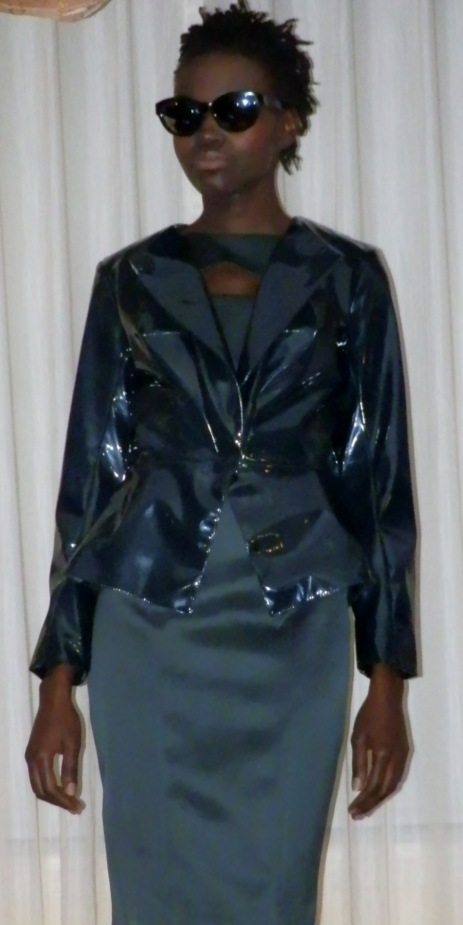 Jade Green peplum jacket & dress