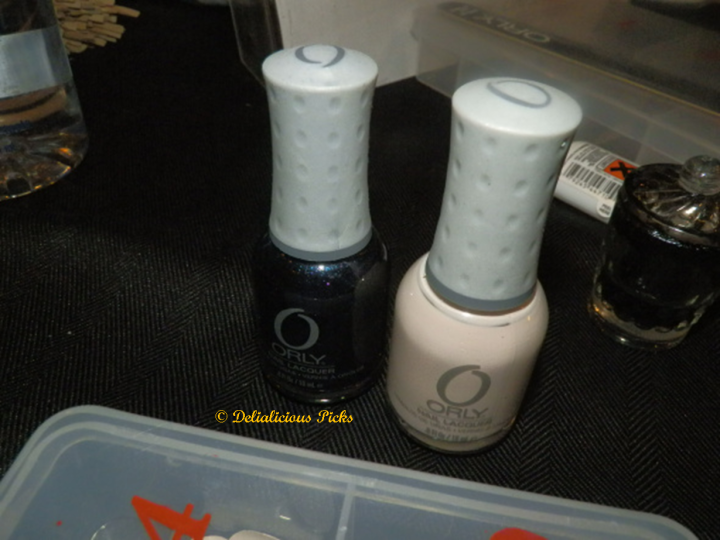 ORLY Nail Lacquer in Pure Porcelain and ORLY Nail Lacquer in After Party