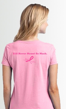 Limited Edition Planet Fitness Mother's Day T-Shirt ($10.00). All proceeds from the tee will go directly to BCRF.