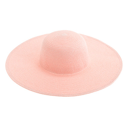 J Crew Summer straw hat, $34.00