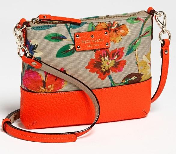 'grove court floral - tenley' crossbody bag