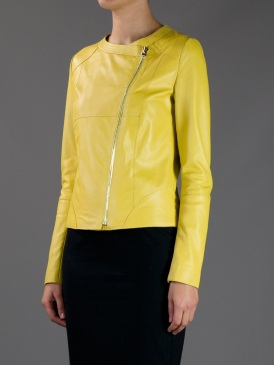 Hôtel Particulier leather jacket, $367.95