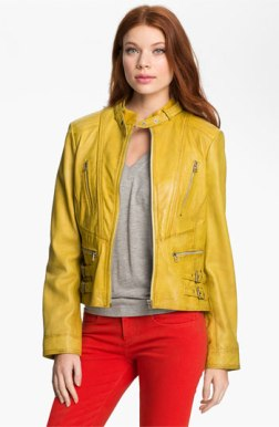 Velvet Heart Leather Jacket, $199
