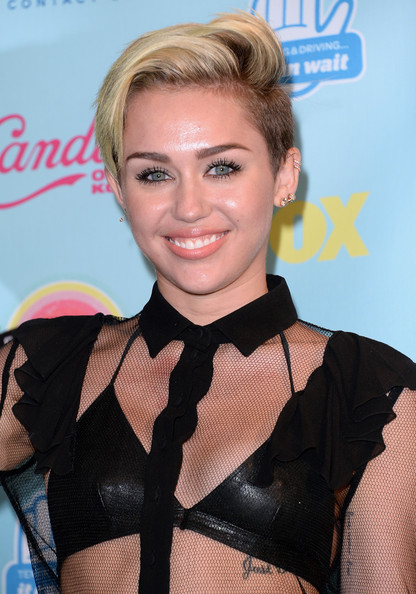 Miley Cyrus (August 10, 2013 - Source: Jason Merritt/Getty Images North America)