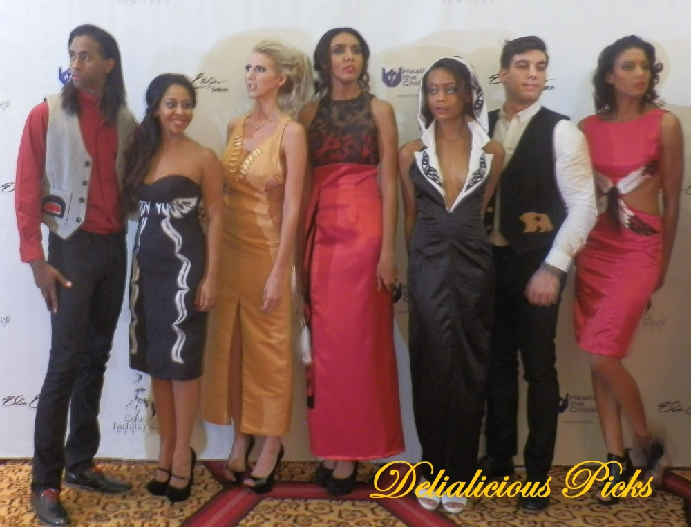 Ringing Bell Robes by Linda Kay Peters at Couture Fashion Week