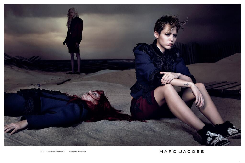 As Seen On Miley Cyrus Marc Jacobs Hi Shine Lacquer In Bark