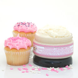 Buttercream Cupcake Sugar Scrub, $16.50