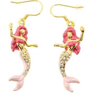 Pink Mermaid Earring, $19.99