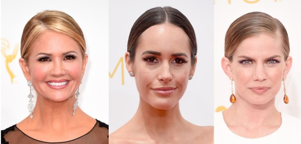 From left to right: Nancy O'Dell, Louise Roe and Anna Chlumsky – Source: Getty Images North America)