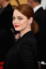 Actress Emma Stone attends the 21st Annual Screen Actors Guild Awards. (January 24, 2015 - Source: Ethan Miller/Getty Images North America)