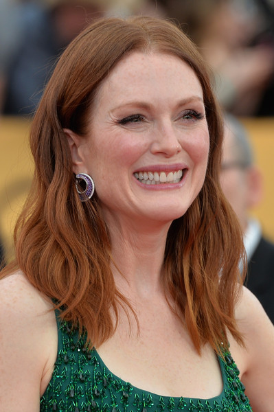 Actress Julianne Moore attends the 21st Annual Screen Actors Guild Awards. (January 24, 2015 - Source: Alberto E. Rodriguez/Getty Images North America)