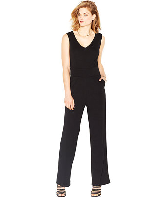 Bar III Crisscross Jumpsuit, $79.50