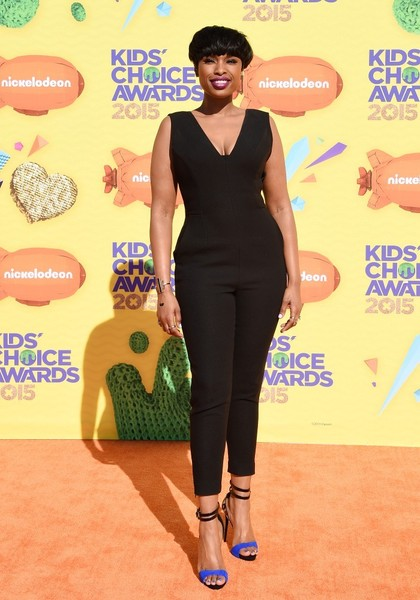 Jennifer Hudson at the Nickelodeon's Kids' Choice Awards (Photo by Axelle Woussen/Bauer-Griffin)