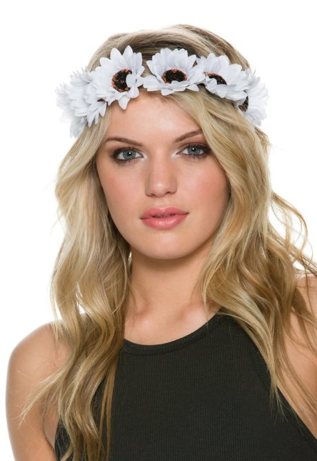 DAISY FLOWER CROWN, $10.95
