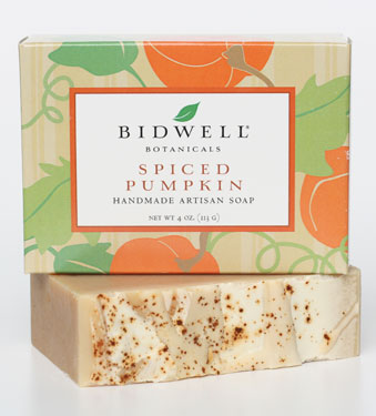 Spiced Pumpkin Soap, $6.80