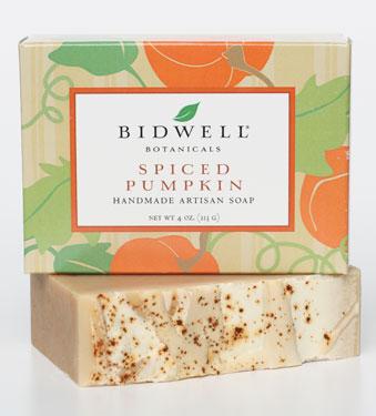 Spiced Pumpkin Soap, $6.80