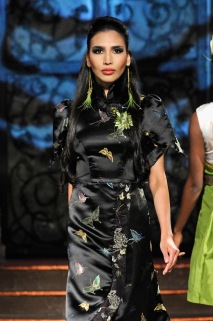 Tigers Eye Clothing fashion show. (Photo by Arun Nevader/Getty Images for Art Hearts Fashion)