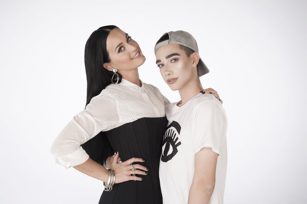 Katy Perry and James Charles (COVERGIRL)