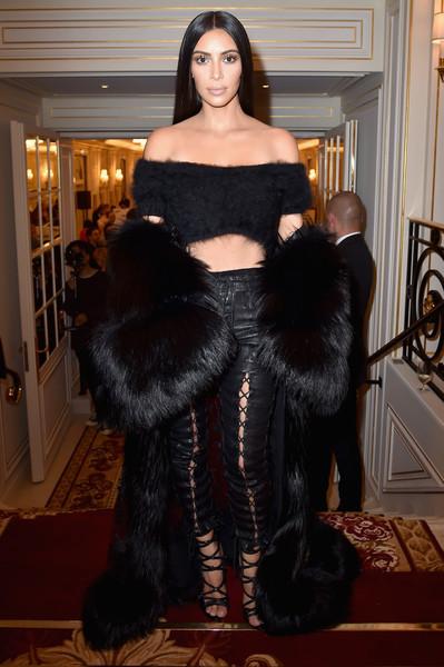 Kim Kardashian West attends Buro 24/7 Fashion Forward Initiative as part of Paris Fashion Week Womenswear Spring/Summer 2016. (Sept. 29, 2016 - Source: Pascal Le Segretain/Getty Images Europe)
